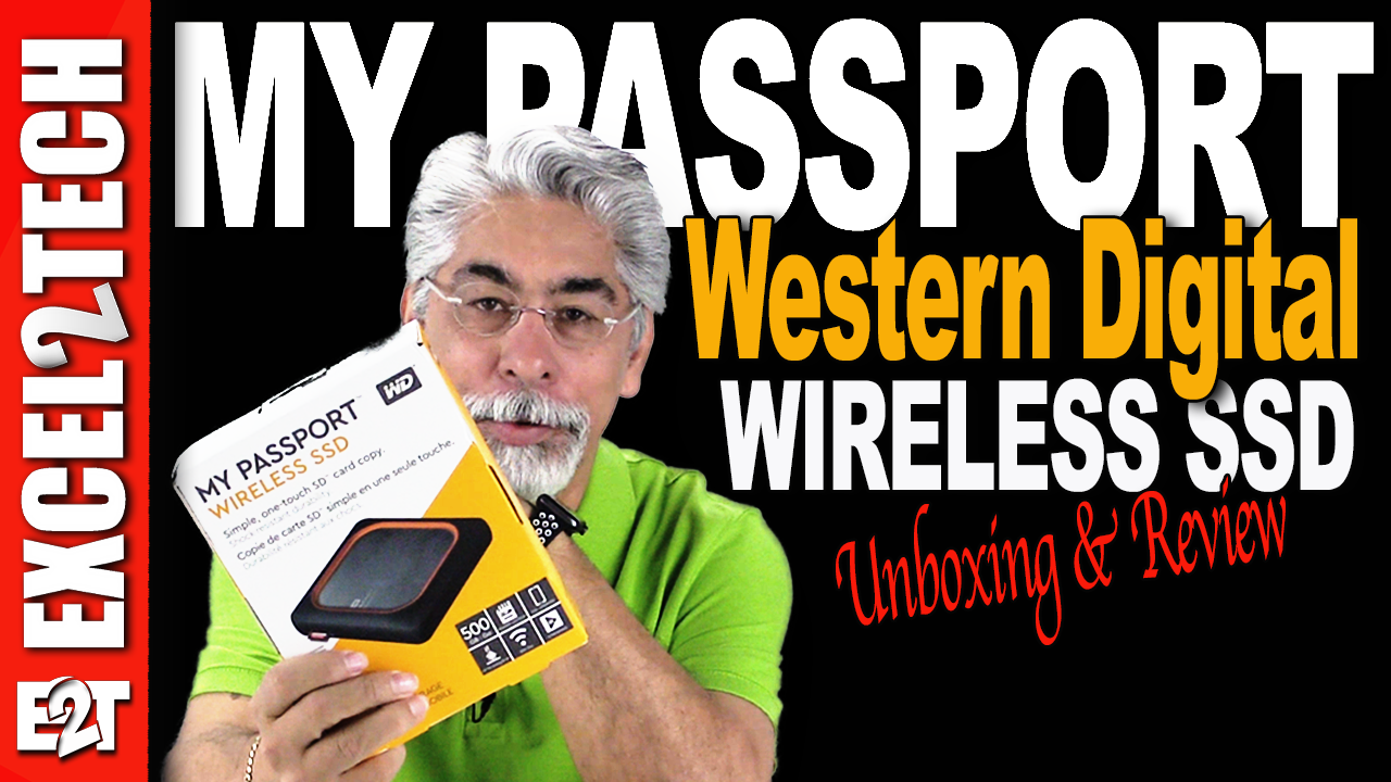 MY PASSPORT WIRELESS SSD from Western Digital, Unboxing and